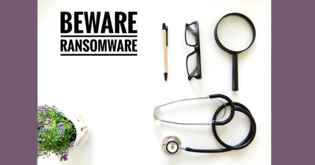 healthcare ransomware help